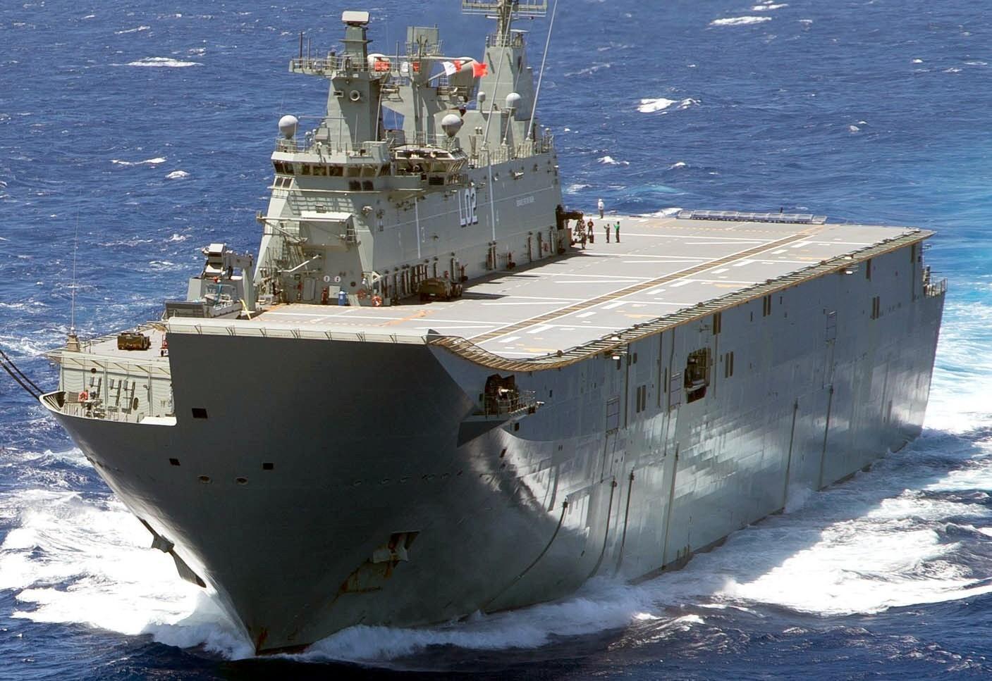 拒绝买中国大型战舰,独自建造3万吨两栖舰,可装备垂直起飞战机安卓版
