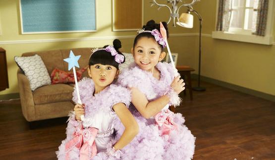 童星團體「大小姐」吳兆弦,現在已經15歲是個超正混血美女