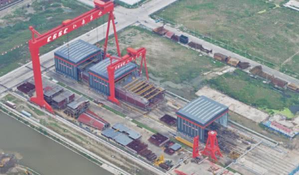 港媒报道海军航母进度喜人,第三艘正在组装,第四艘开始建造-第1张