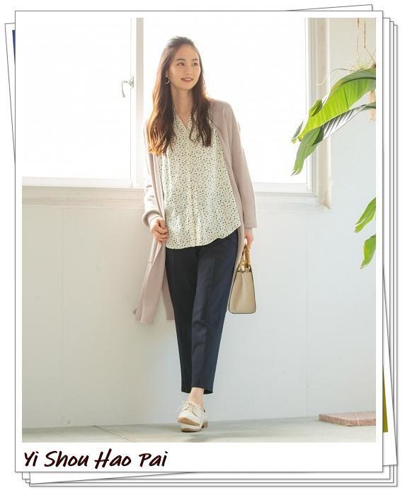 米色开衫的秋季搭配精选!24种你值得尝试的优雅穿搭-第1张