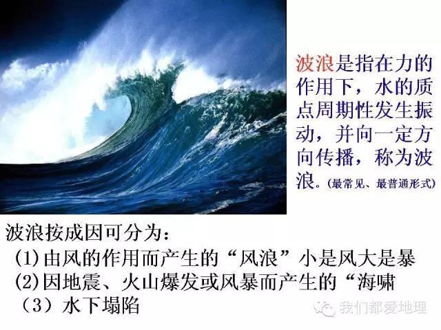 高中地理必修1复习精讲-大规模的海水运动
