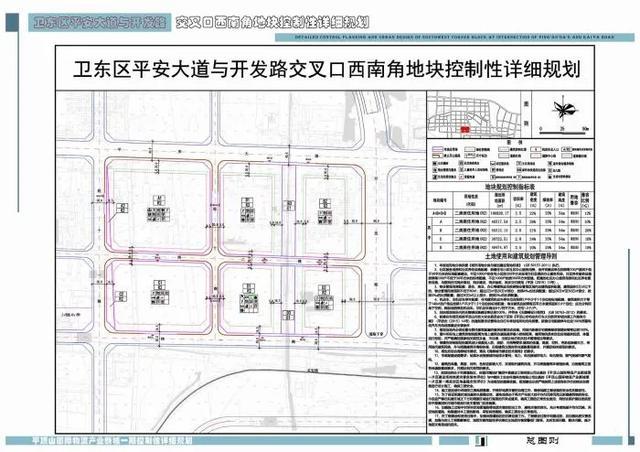 卫东区4宗地块规划出炉,未来这里将建临水小高层还有商业街插图1