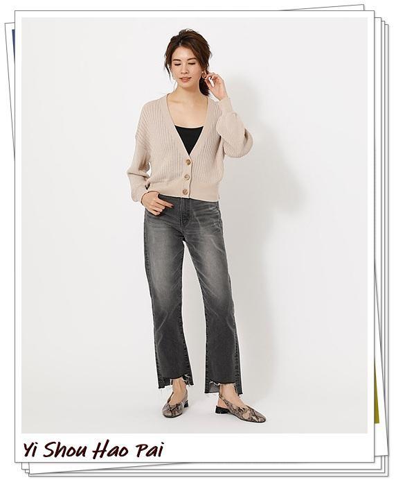 米色开衫的秋季搭配精选!24种你值得尝试的优雅穿搭-第8张