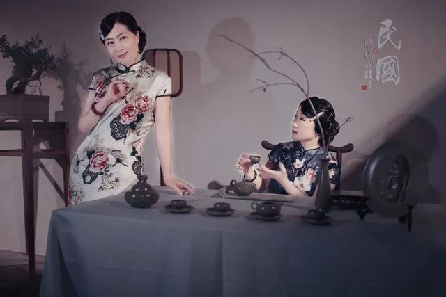 有一种惊艳,叫旗袍遇上禹州神垕古镇老街!