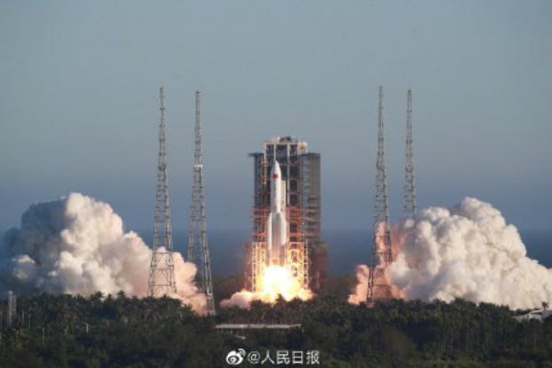 【热点】长征五号B运载火箭首飞成功!_加拿大28群