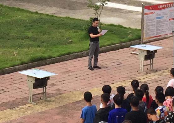 """江苏淮安:马甸中学开展""""厉行节约、反对浪费""""主题承诺签名活动"""