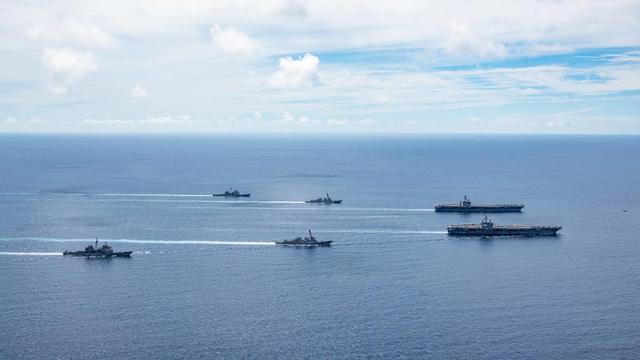 解放军一声令下,4大海域同步演习,军媒正告美方:不要轻举妄动-第3张