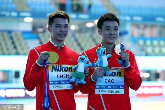 中国跳水梦之队自己跟自己比,两对当家组合跳出高水平