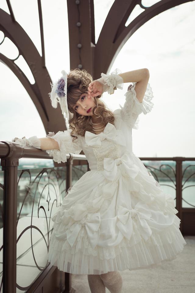 绝美洛丽塔(Lolita)-纯白花嫁