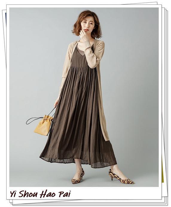 米色开衫的秋季搭配精选!24种你值得尝试的优雅穿搭-第19张