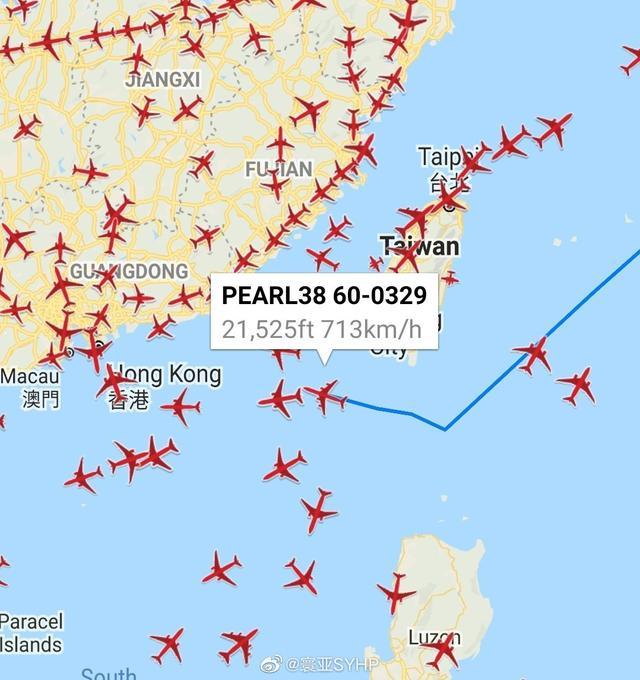 又来挑衅!美军加油机1日上午从巴士海峡进入台湾海峡南部【www.smxdc.net】