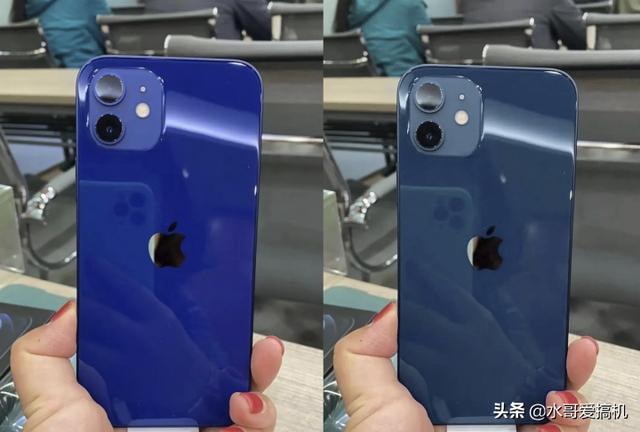 iPhone12蓝色翻车?没人P图是真翻车了