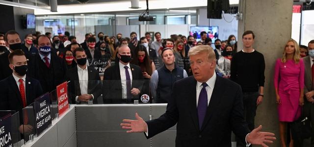 特朗普称并没考虑败选或胜选演讲:赢很容易,输很难 全球新闻风头榜 第1张