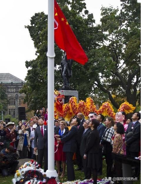 """加拿大取消""""华人国庆节升旗仪式"""",庄文浩:关押加公民是报复-第2张"""