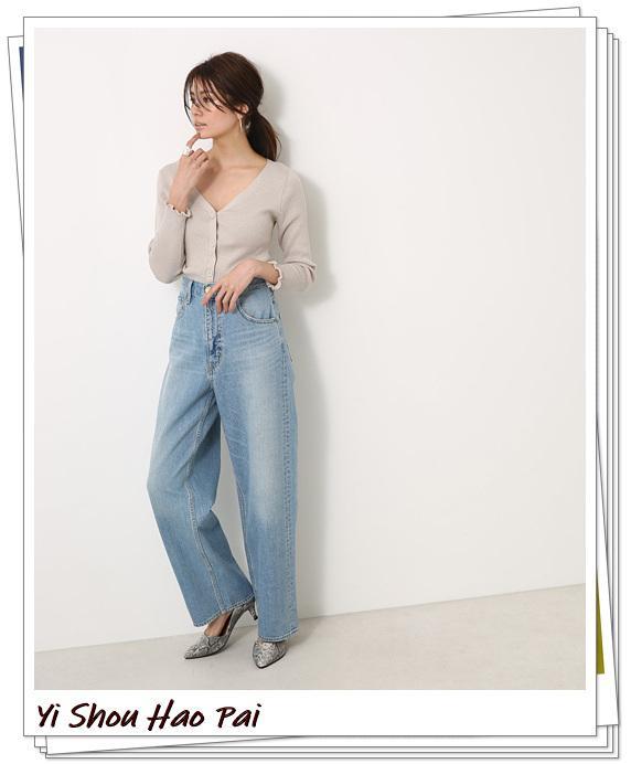 米色开衫的秋季搭配精选!24种你值得尝试的优雅穿搭-第11张
