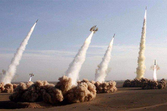 """威慑""""台独"""",10枚东风导弹震撼齐射-第2张"""