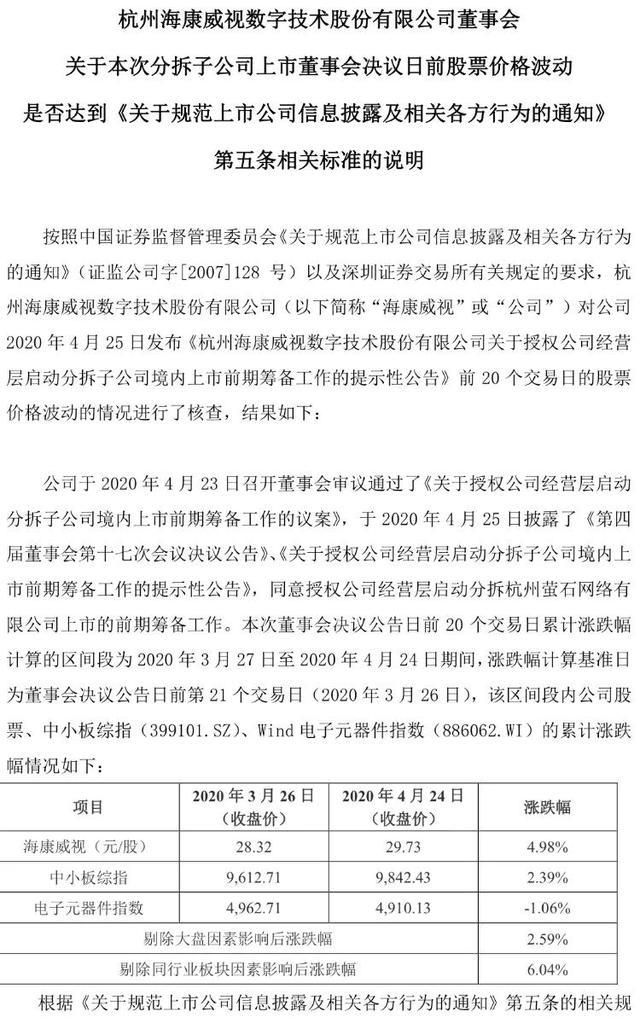 杭州市萤石网络有限责任公司拆分至新三板转板