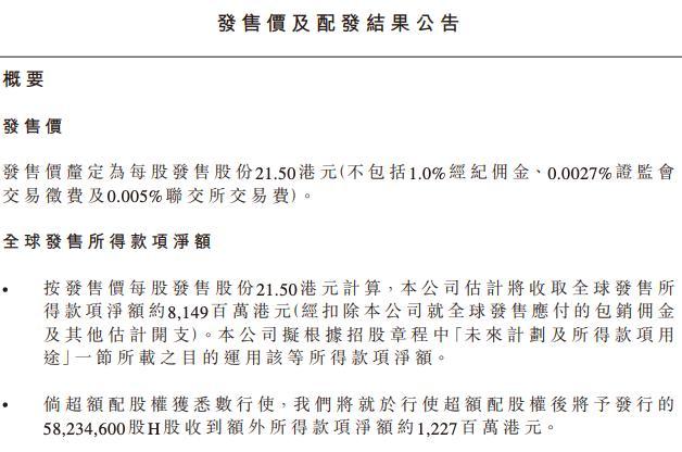 农夫山泉发布公告:香港IPO定价21.5港元/股 明天正式上市交易【www.smxdc.net】