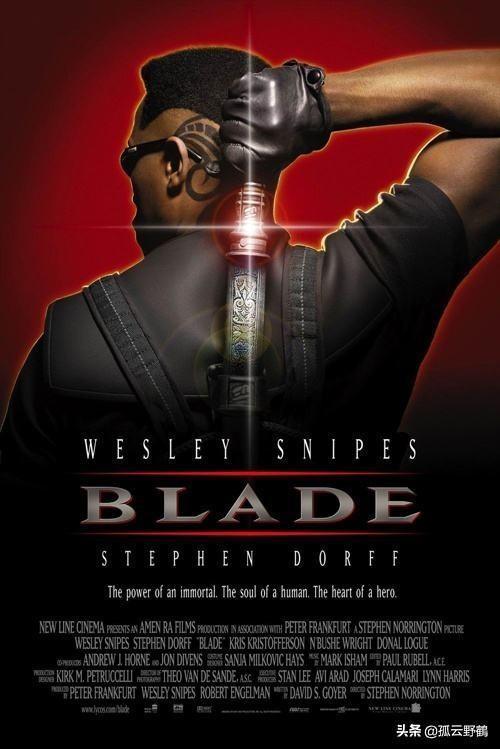 回顾《刀锋战士》系列电影,吸血鬼电影史上的丰碑