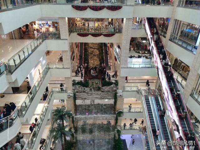 西安小寨赛格招商中心,腊八日游逛西安小寨赛格国际购物中心