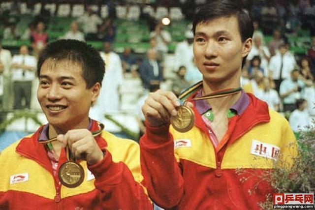 王涛吕林最牛一战,巴塞罗那奥运会击败世乒赛男双冠军,勇夺金牌-第5张