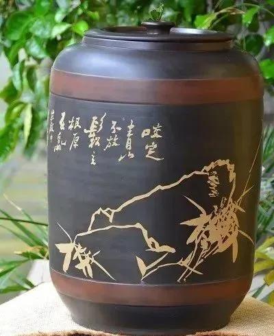 以罐养水,以水润茶,以茶清心——紫陶缸养水到底好在哪里 紫陶特点-第1张