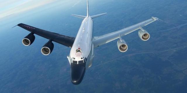 """美媒:借口""""担心中国试射导弹"""",美国RC135侦察机飞往中国北方【www.smxdc.net】"""