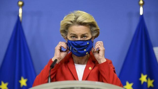 欧盟委员会主席正在隔离,曾与确诊者参加会议,欧洲疫情再次严峻