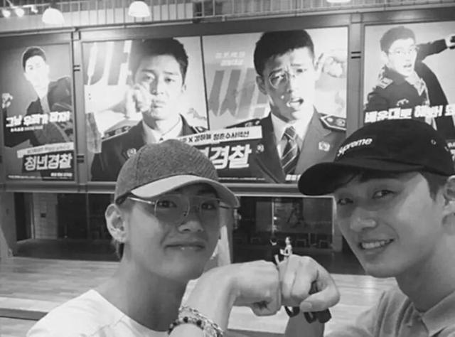 BTS防彈少年團V的好友有共同點,原來兄弟們都姓「朴」