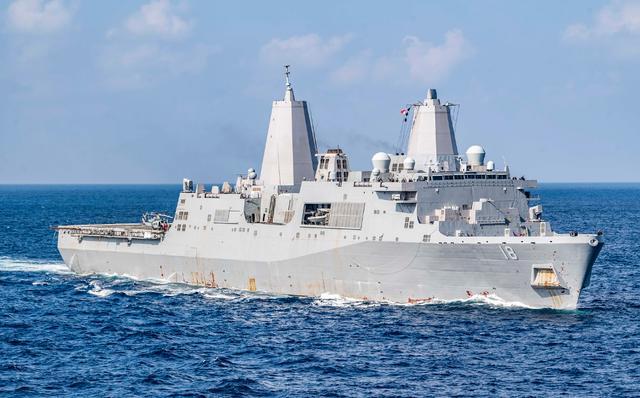 美国频繁派机到南海侦察之际 美军两艘万吨巨舰也在南海现身【www.smxdc.net】