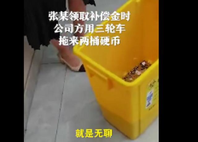 女子收到的6000元离职赔偿金全是硬币,认为公司涉嫌侮辱,网友怒了【www.smxdc.net】