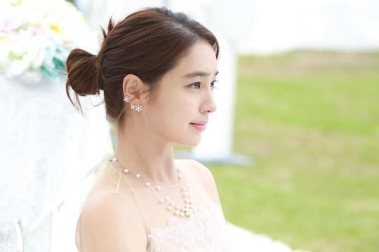 韩国女艺人李珉廷SNS发布《结过一次了》片场照-第3张