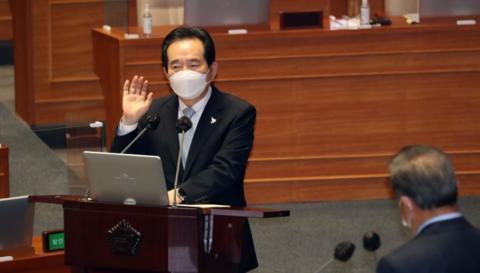 韩国总理:疫情初期没有全面禁止中国人入境 是明智之举-第1张