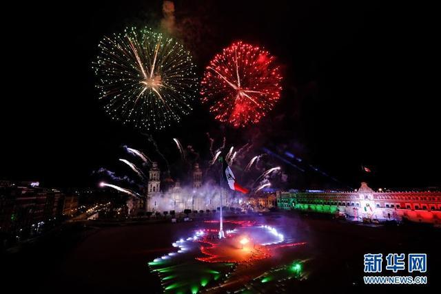 墨西哥庆祝独立210周年-第4张