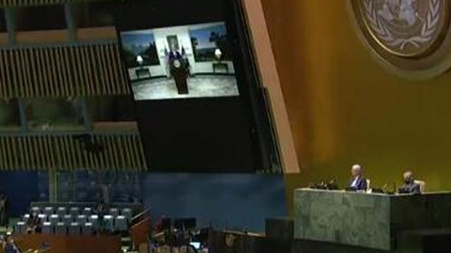 """新华国际时评:散布""""政治病毒""""玷污联合国平台【www.smxdc.net】"""