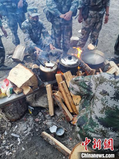 """7天6夜的""""生死巡逻路""""西藏军区某旅完成高原无人区既定任务-第7张"""