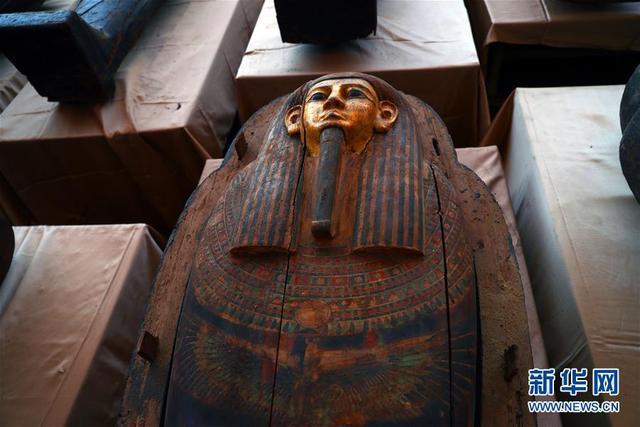 埃及出土59具2500年前的木棺【www.smxdc.net】 全球新闻风头榜 第1张