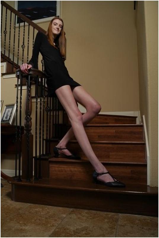 1米35!美国17岁少女打破世界最长腿纪录【www.smxdc.net】 全球新闻风头榜 第5张
