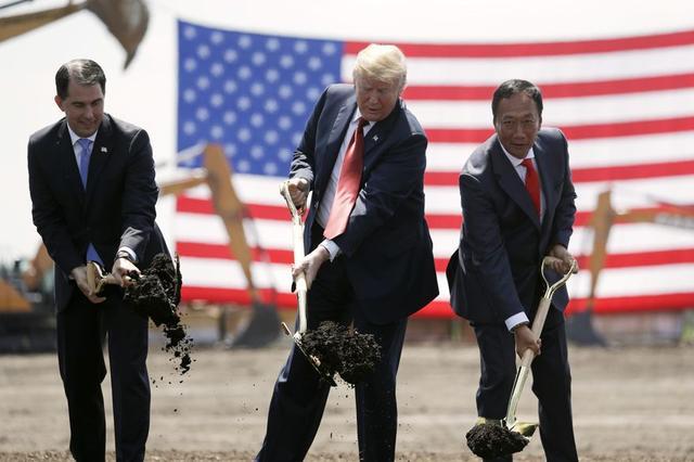 工厂缩小后40亿免税告吹?威州通知富士康重谈协议