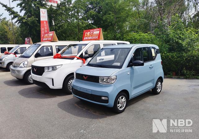 9月新能源汽车销量排名:上汽通用五菱夺冠,比亚迪力压特斯拉