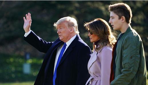 美国第一夫人梅拉尼娅透露:其子巴伦·特朗普曾确诊感染新冠