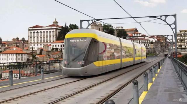 中车在欧洲首个城轨订单开工,为葡萄牙波尔图生产地铁列车