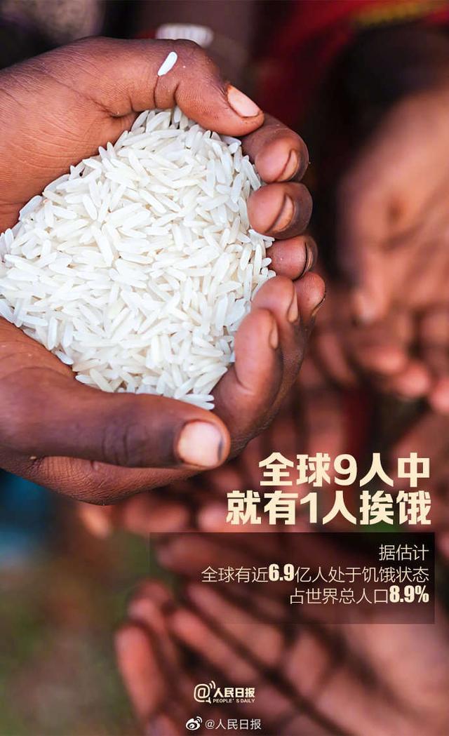 """世界粮食日,拒绝""""舌尖上的浪费"""""""