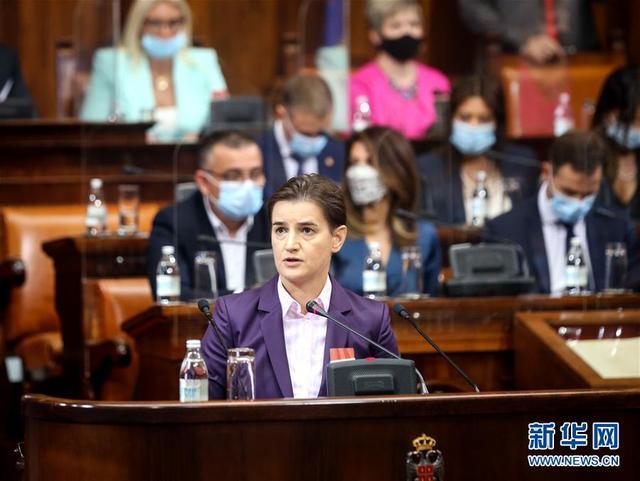 塞尔维亚新一届政府宣誓就职