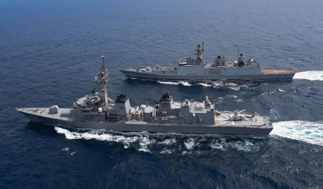 美日印澳四国海上联演开幕 日媒:目的就是制约中国 全球新闻风头榜 第1张