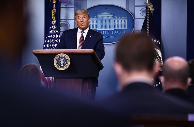 特朗普选举夜后首次公开讲话,多家美媒突然停播 全球新闻风头榜 第1张