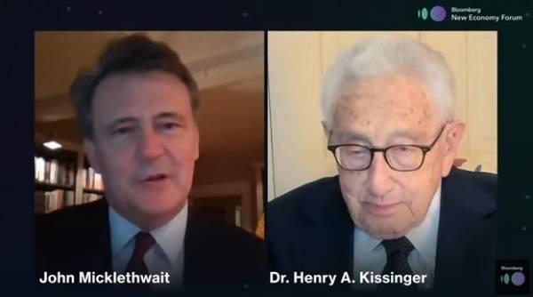 亨利·基辛格:我们的工作不应当是去驯服中国