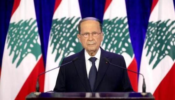 黎巴嫩总统奥恩发表国庆讲话 强调改革迫切性