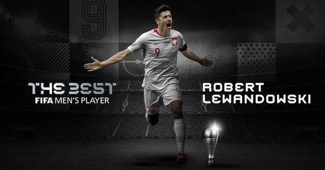 莱万多夫斯基荣膺2020年FIFA世界足球先生