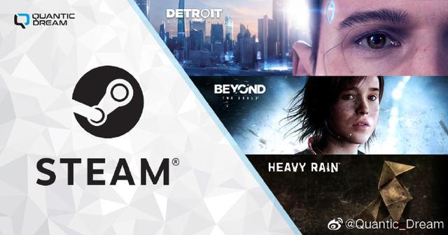 Steam平台冬季特惠 Quantic Dream旗下多款游戏打折插图